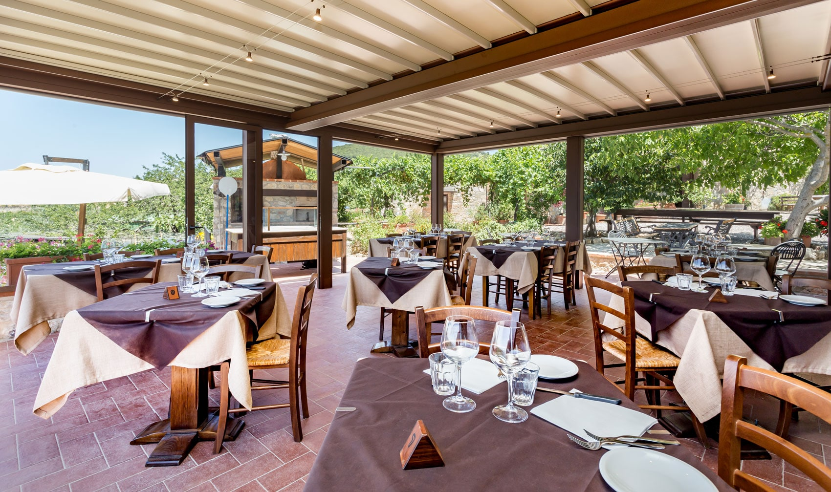 The Tuscan cuisine Restaurant