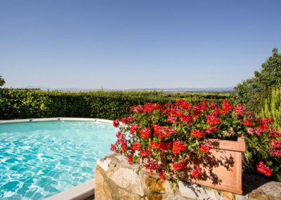 Piscines avec vue panoramique - villa di sotto - chianti