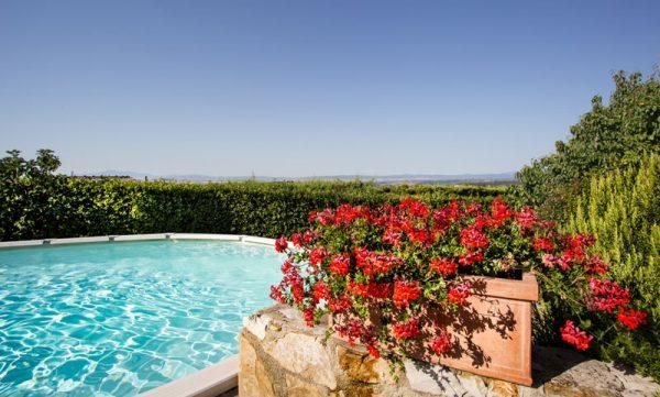 Piscine panoramiche Villa di Sotto Chianti
