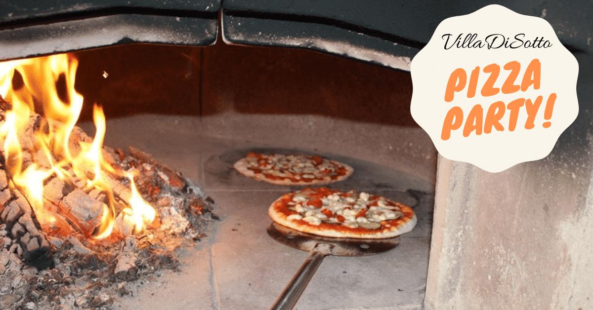 VillaDiSotto Pizza Party!