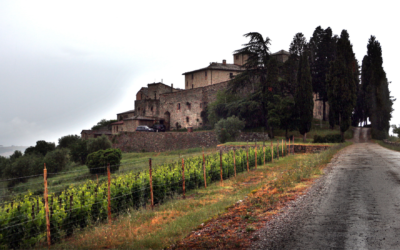 Das Schloss von Cacchiano