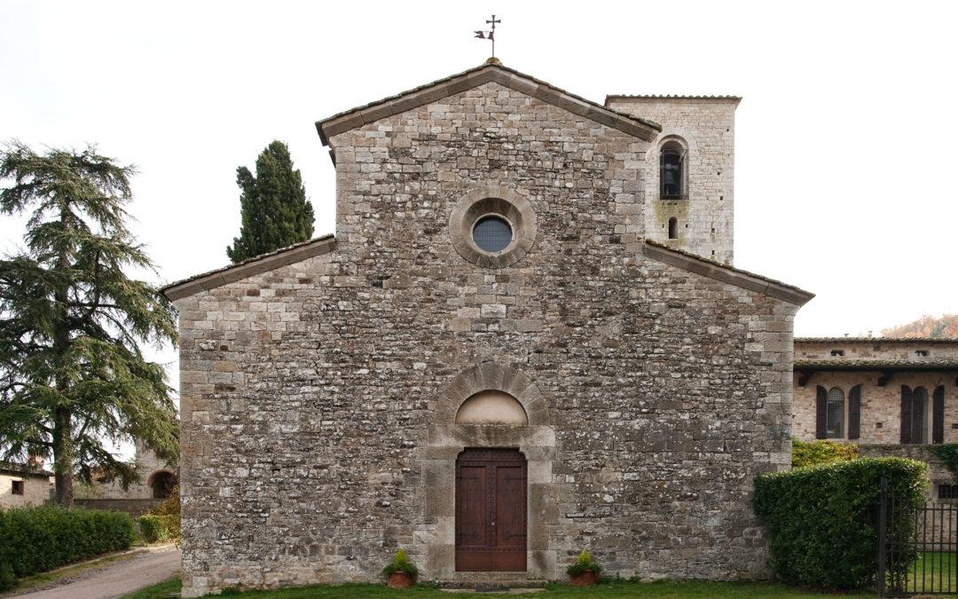 Romanische Pfarrkirche San Giusto in Salcio
