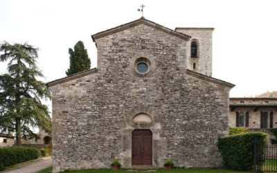 Romanesque parish church of San Giusto in Salcio