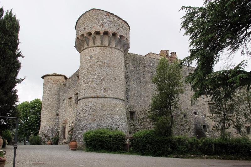 Schloss von Meleto - Villa di Sotto