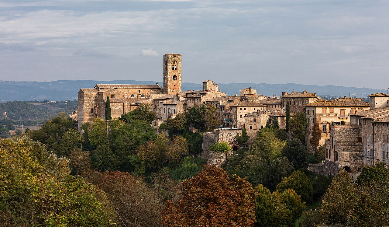 Val d'Elsa und San Gimignano