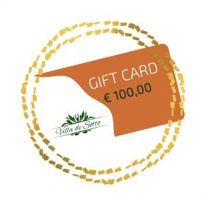 Carte cadeau 100,00 Euro - Villa di Sotto
