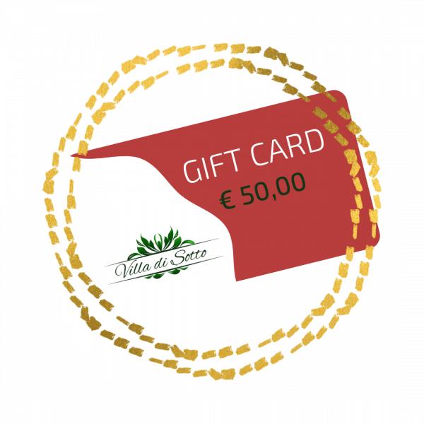 Gift Card 50,00 Euro - Villa di Sotto