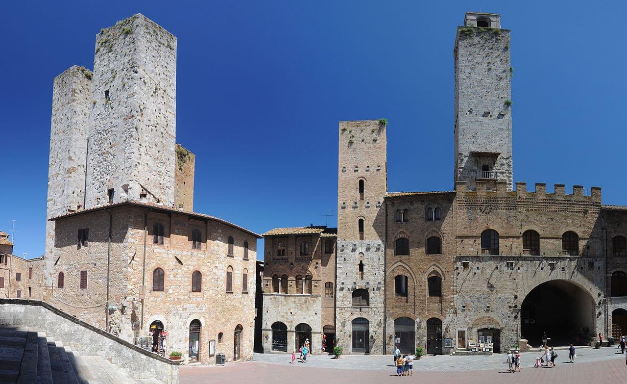 San Gimignano - Villa di Sotto